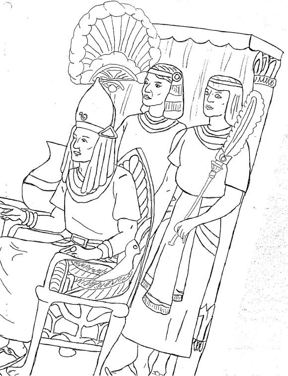 Yahweh 39 s children passover lesson 4 the plagues on egypt for Pesach coloring pages