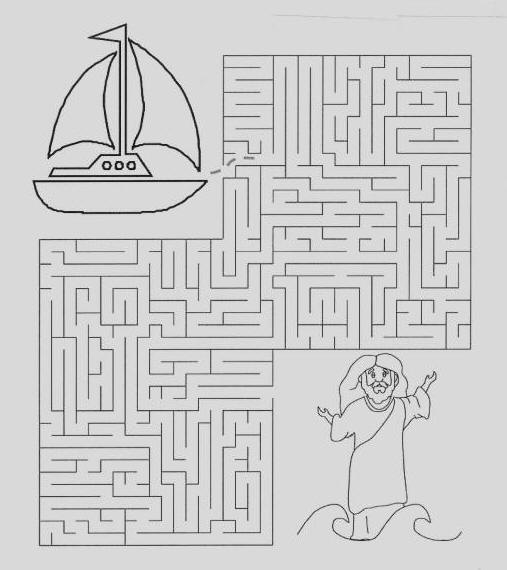 Yahweh S Children Lost Boat Maze